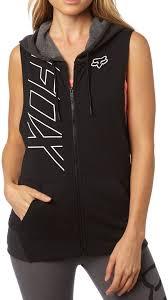 fox precised cut off zip las vest clothing vests casual fox bicycle shocks best value