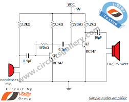 simple condenser microphone mini audio amplifier circuit schematic simple condenser microphone mini audio amplifier circuit schematic circuits gallery