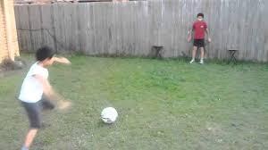 DIY Soccer Goal  Simple Practical BeautifulSoccer Goals Backyard