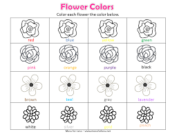 Flower Worksheets For Kindergarten Flower Connect The Dots Page ...
