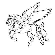 Pegasus Coloring Pages Hellokidscom