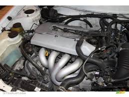 1998 Toyota Corolla LE 1.8 Liter DOHC 16-Valve 4 Cylinder Engine ...