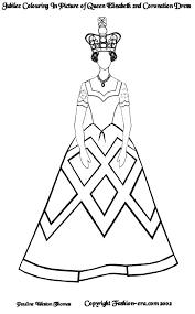 460 x 658 jpeg 35 кб. Jubilee Colouring In Picture Of Queen Elizabeth Ii S Coronation Dress
