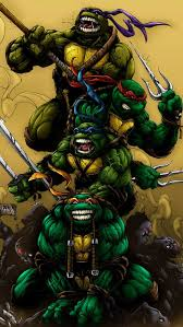 age mutant ninja turtles mobile wallpaper 10411