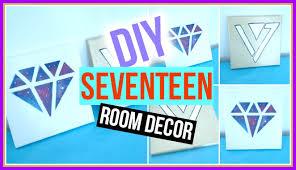 Seventeen Bedroom Diy Kpop Room Decor Seventeen Edition Kpopstyled Youtube