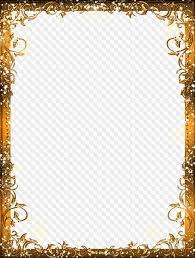 Frames For Photoshop Gold Frames Png Images Frames For Photoshop