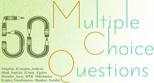 50 Multiple Choice Questions - Gonit Sora