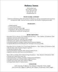40 Bookstore Clerk Resume Templates Try Them Now MyPerfectResume Delectable Resume Book