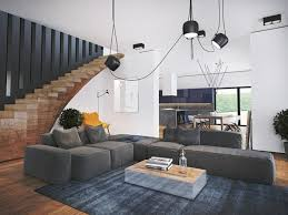 Gray carpet for the living room a perfect match for modern
