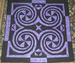 109 best Spiral Quilts images on Pinterest | Quilt block patterns ... & Plum Crazy in the book -Simply Amazing Spiral Quilts by RaNae Merrill Adamdwight.com
