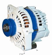 installing a high power alternator in your boat balmar small case alternator single 2 foot mount internal fans and a