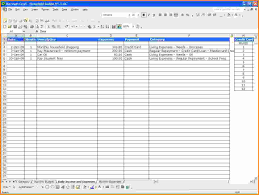 excel expenses spreadsheet living expenses spreadsheet business template excel