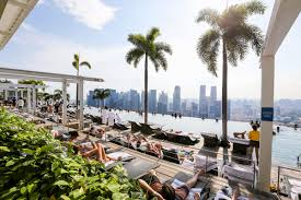 infinity pool singapore hotel. Marina Bay Sands Infinity Pool: The World\u0027s Largest Rooftop Pool In Singapore Hotel