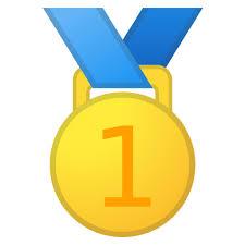 Bildergebnis für 1. platz medaille