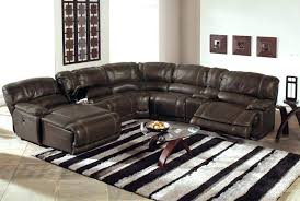 nevio leather power reclining sectional sofa gray recliner leather sectional