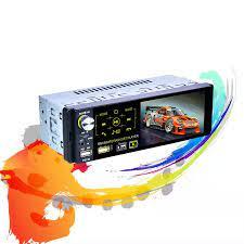 Nhà Máy P5130 12V 1Din Máy Nghe Nhạc Đa Phương Tiện Màn Hình Cảm Ứng 4.1  Inch Xe MP5 Video RDS Tự Động Radio Bluetooth SWC Remoter Car Multimedia  Player