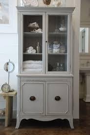 ideas china hutch decor pinterest: beautiful painted antique hutch  beautiful painted antique hutch