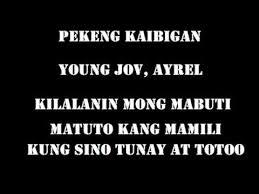 Quotes Sa Pekeng Kaibigan