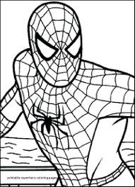 Spider Man Coloring Page The Amazing Spider Man At Com Spiderman
