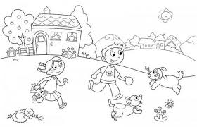 Small Picture Beach Coloring Pages Preschool Summer Pictures To For Fir