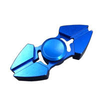 sharp fidget spinner. sharp corner double angle fidget finger spinner metal alloy hand focus keeptoy and adhd edc o