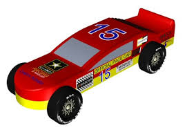 pinewood derby race cars you can build this pinewood derby nascar full car design
