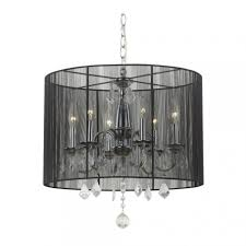 photo 4 of 8 crystal chandelier pendant light with black drum shade and drum chandelier also drum chandeliers with crystals