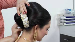 Indian Hair Style indianasian bridal hairstyle tutorial youtube 2516 by wearticles.com