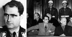 nuremberg trials the encyclopedia axis  rudolf hess and joachim von ribbentrop at the nuremberg war crimes trials words of ribbentrop we are only living shadows the remains of a dead era an