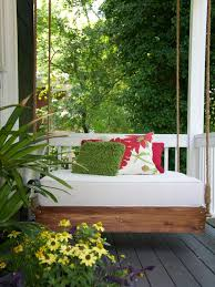 ... Outdoor Relaxing Hanging Daybeds Always In Trend Modern Small Porch A  Swing Build Daybed Swing Large ...