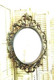 large vanity tray large oval mirror gold ornate frame vanity tray bathroom
