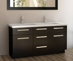 60 in double sink bathroom vanity. design element moscony double sink vanity. 60 inch bathroom vanity in
