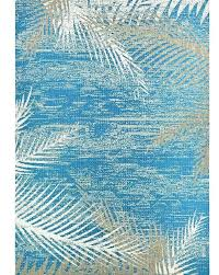 area rugs tropical palms blue gray beige indoor outdoor rug inspired fl new hawaiian large size