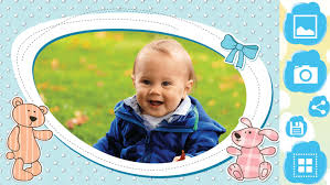 baby photo frames pic editor poster