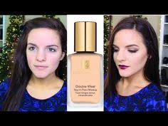 estee lauder double wear foundation i review demo lets learn makeup