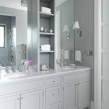 grey shaker bathroom vanity