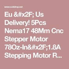 17 best ideas about milling machine milling machine 5pcs nema17 48mm cnc stepper motor 78oz in 1 8