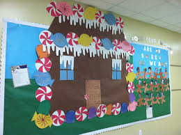 gingerbread house bulletin board ideas. Delighful Board Winter Bulletin Board Idea Like The Gingerbread Housecaption Maybe   To House Ideas S