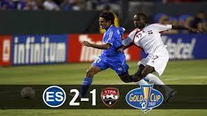El Salvador [2] vs Trinidad y Tobago [1 ...