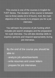 english for tvet how to ace a job interview on openlearning com the team
