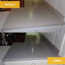 before after countertops laminate resurfaced