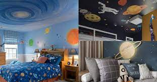space themed bedroom decor