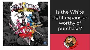 Mighty Morphin Power Rangers White Light Part 1 Power Rangers Heroes Of The Grid White Light