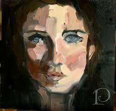 decor arts now guest feature blue eyes by pamela copeman oil painting face