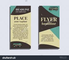 travel camping brochure flyer design layout stock vector  travel and camping brochure flyer design layout template rv park and campground triangle abstract