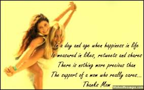 Thank You Mom Quotes Stunning Thank You Mom Messages And Quotes WishesMessages