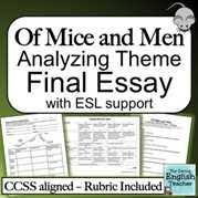 candy essay of mice and men crooks monologue gcse english marked  essay candy essay