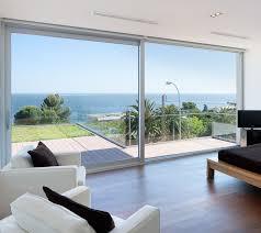 sliding patio door aluminum double glazed thermally insulated kasting rt100