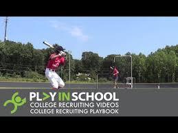 Byron Coleman Hitting - Stars Baseball Fall 2018 - www.PlayInSchool.com -  YouTube