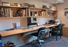Check out this built-in, his and hers home office where Oakland couple Ian  and Stephanie get their computing and sewing all done (and perhaps even at  the ...